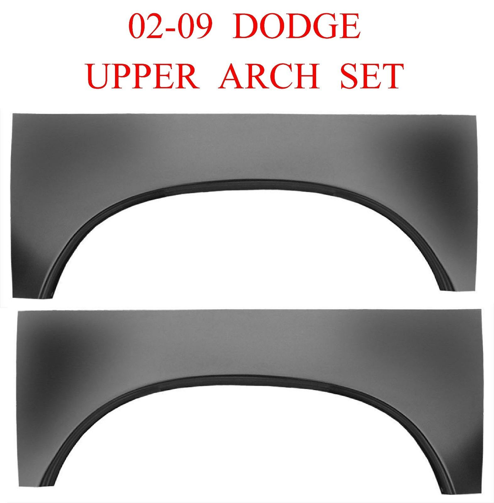 02-09 Dodge Ram Upper Wheel Arch Set