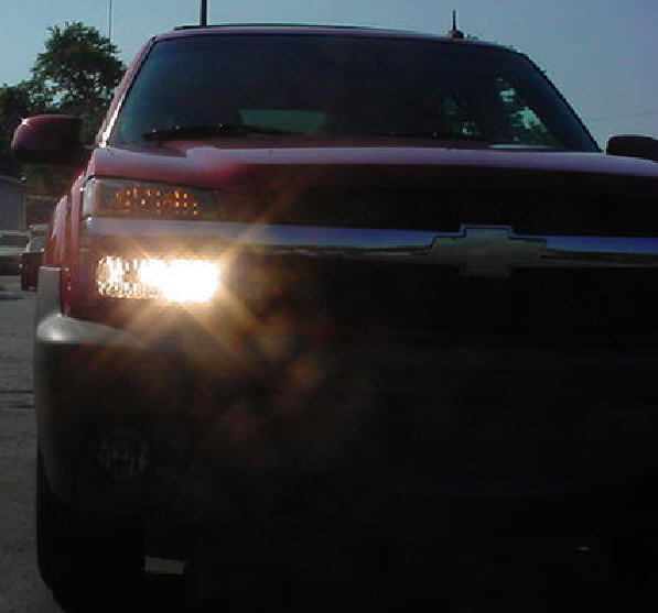 02 06 Chevy Avalanche High Beam Conversion Kit
