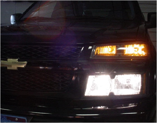 04-12 Chevy Colorado High Beam Conversion Kit
