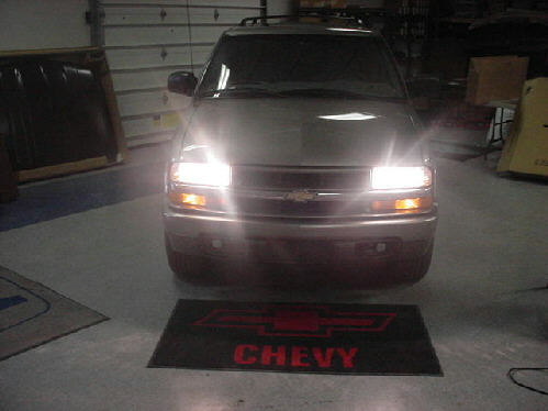 98-04 Chevy S10 GMC S15 High Beam Conversion Instructions