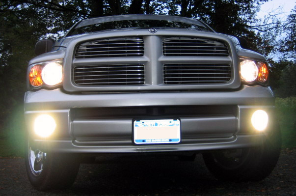 02 & Up Dodge Ram High Beam Fog Light Conversion Kit