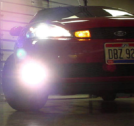01 04 Ford Focus SVT High Beam Conversion Kit