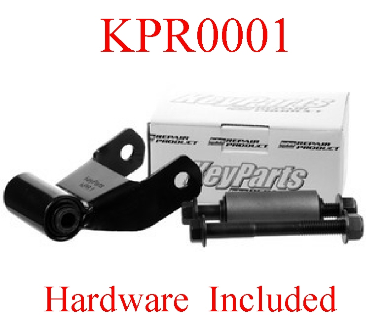 "KPR0001 Ford 75 07 3"" Rear Spring Shackle Kit L=R Suspension"