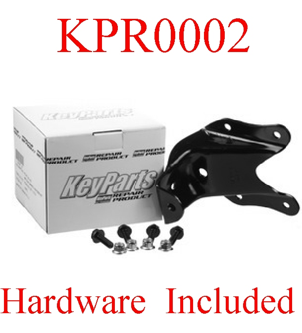 "KPR0002 Ford 80 96 3"" Rear Leaf Spring Hanger Kit L=R Suspension"