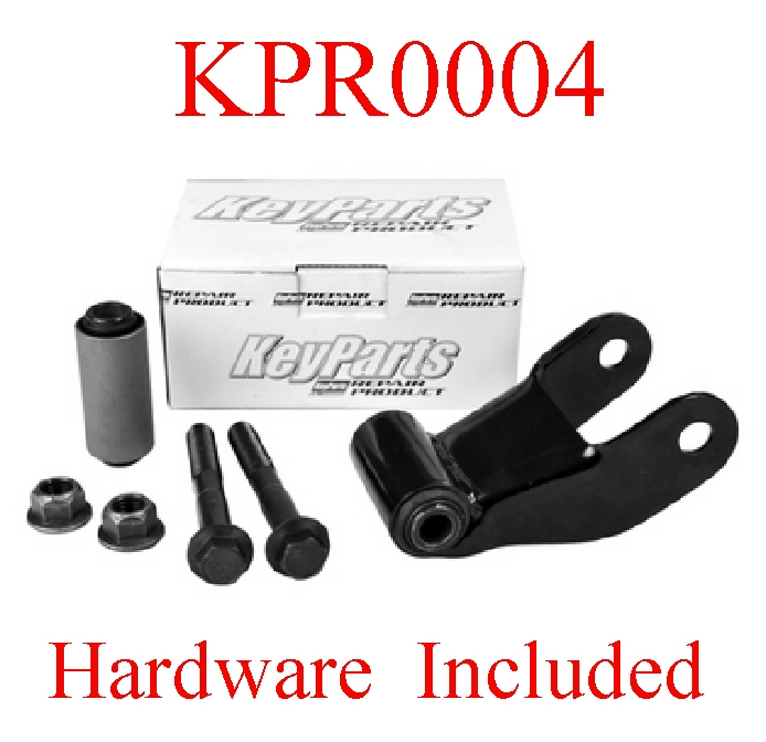 KPR0004 90 96 F150 Rear Spring Shackle Kit, L=R Suspension