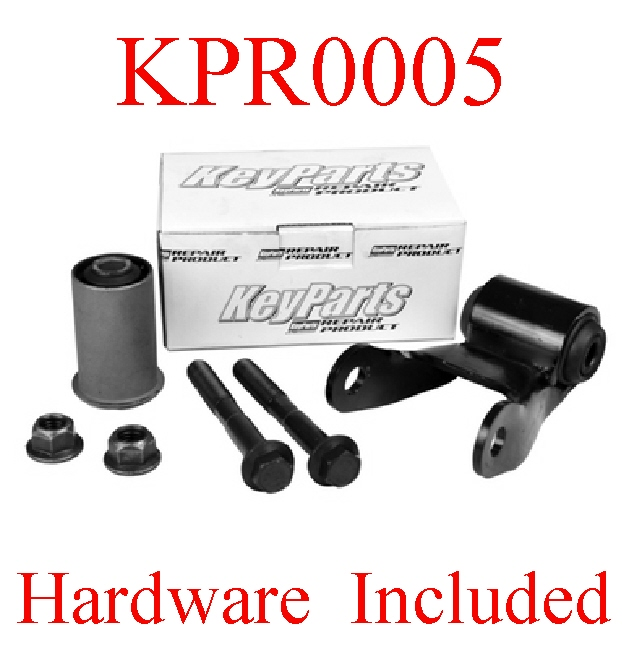 KPR0005 88 06 Chevy Rear Spring Shackle Kit, L=R Suspension