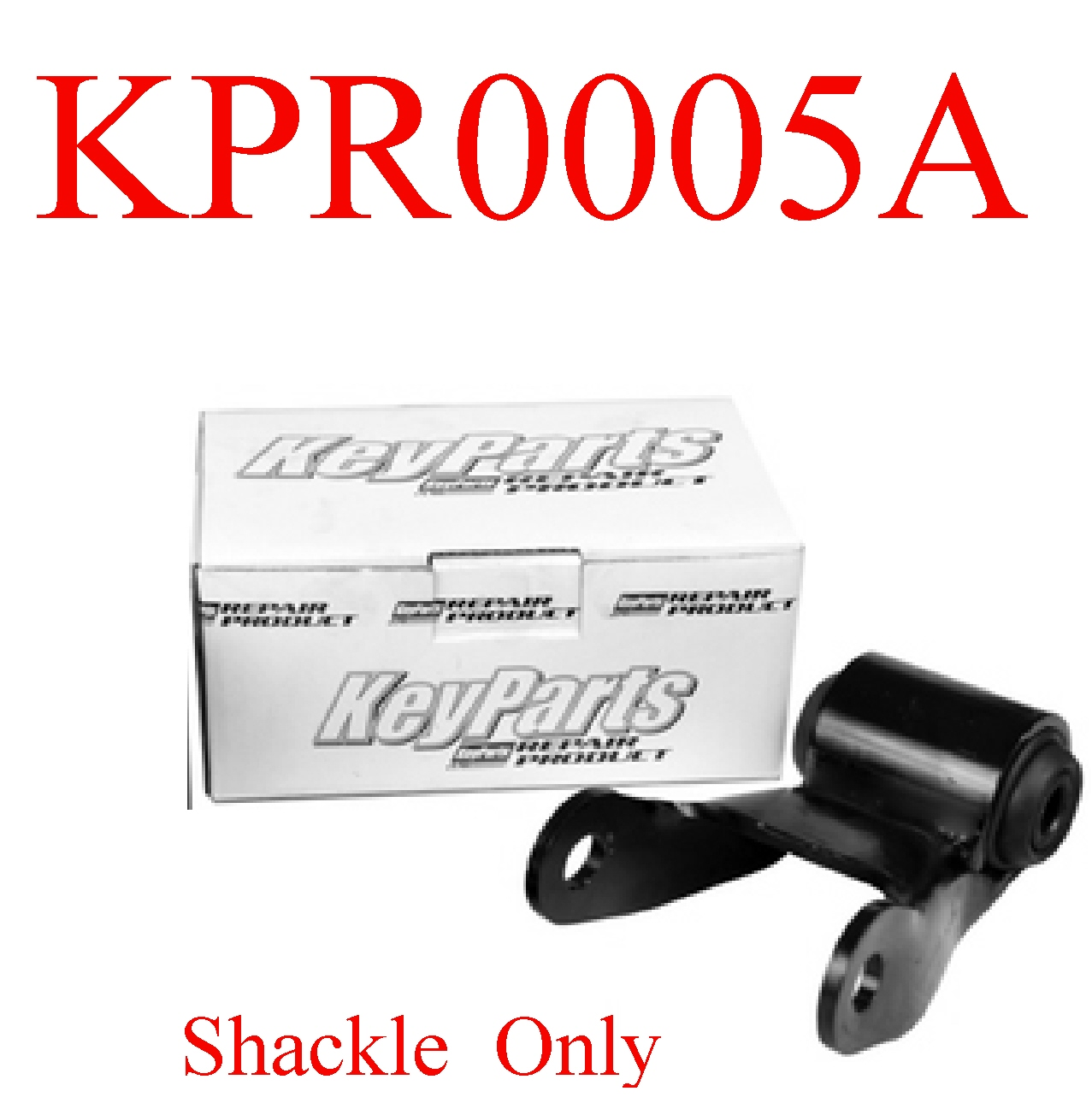 KPR0005A 88 06 Chevy Rear Spring Shackle Assembly, Suspension