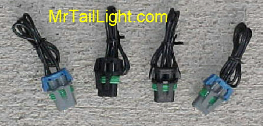88-98 Chevy GMC Composite Head Light Sockets
