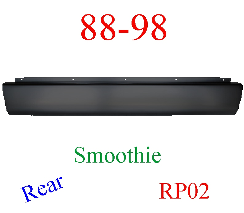 RP02 88-98 Chevy Roll Pan, Rear Smoothie