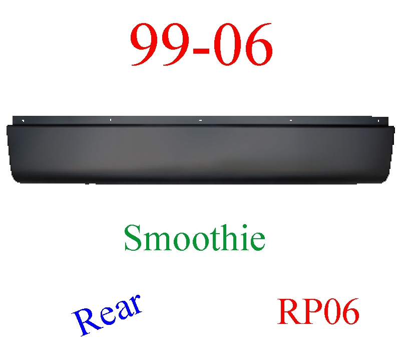 RP06 99-06 Chevy Rear Roll Pan Smoothie