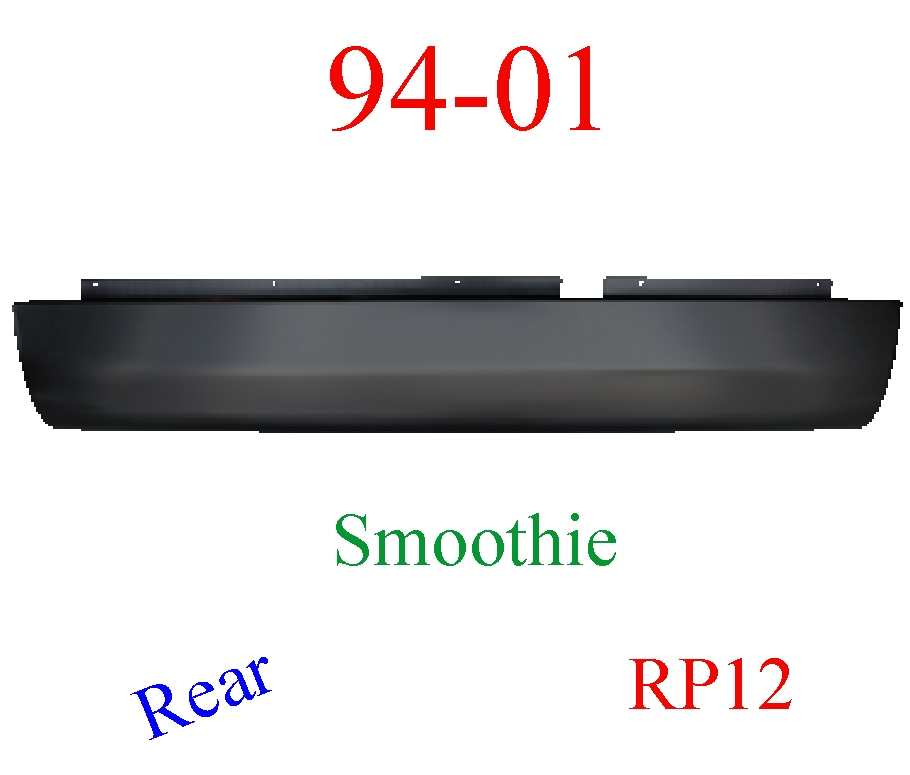 RP12 94-01 Dodge Ram Roll Pan Rear Smoothie