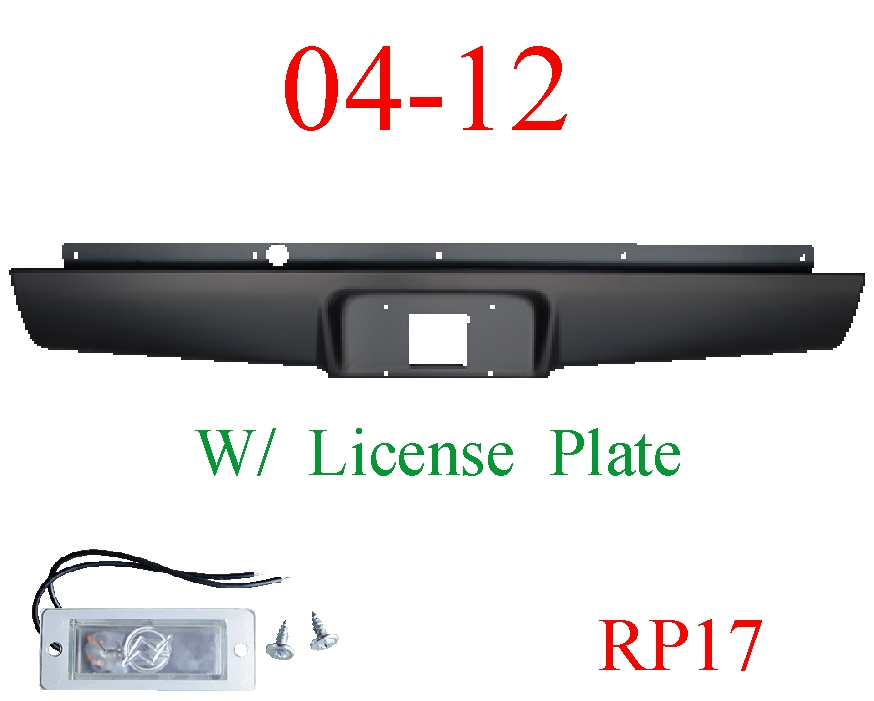 RP17 04-12 Chevy Colorado Roll Pan Rear