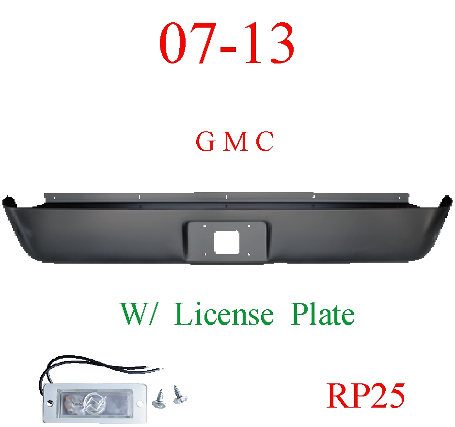 RP25 07-13 GMC Sierra Roll Pan Rear