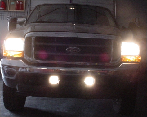 99-04 Ford Super Duty High Beam Fog Light Conversion Kit
