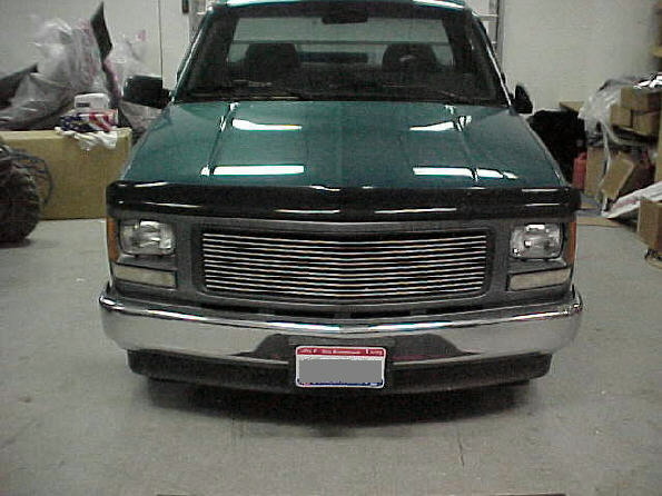 94-98 GMC Work Truck To Silverado Instructions