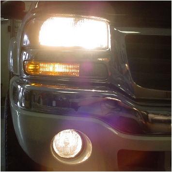 03-06 GMC Sierra High Beam & Fog Light Conversion Kit
