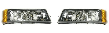03-06 Chevy Truck Left & Right Parking Light Set 2PC