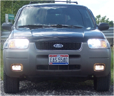 01-08 Ford Escape High Beam Fog Light Kit