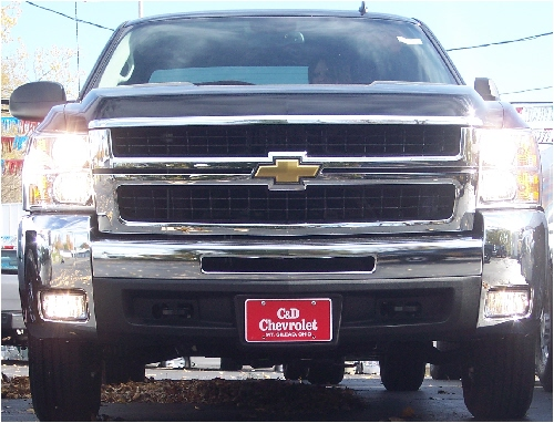 07 & Up Chevy GMC Truck High Beam Fog Light Kit