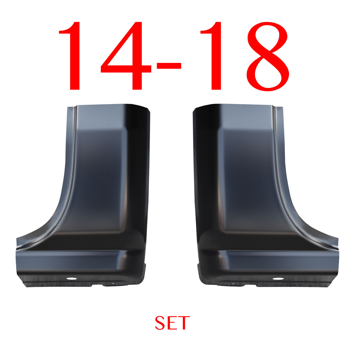 14 18 Chevy Regular Cab Corner Set, GMC Sierra L&R