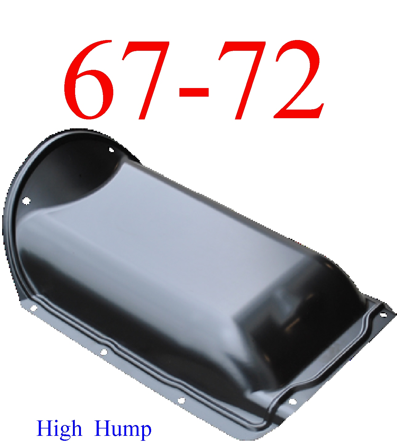 67-72 Chevy High Hump Transmission Cover, MrTailLight.com Online Store