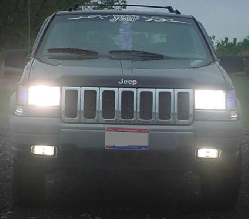 93 98 Jeep Grand Cherokee High Beam Kit