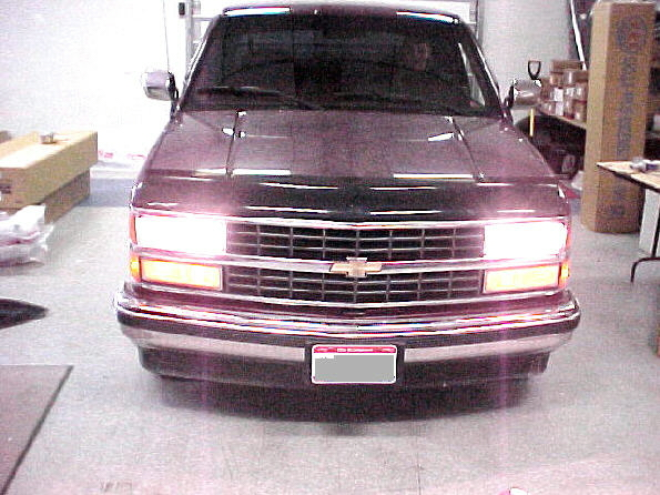 88-98 Chevy GMC High Beam Conversion Instructions