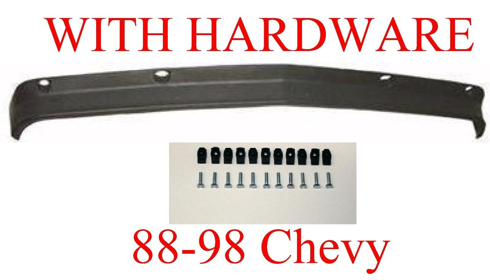 All Chevy 98 chevy bumper : 88-98 Chevy GMC Lower Bumper Valance With-Out Holes, MrTailLight ...